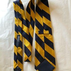 Polo by Ralph Lauren Accessories - Polo Ralph Lauren designer silk tie from Italy